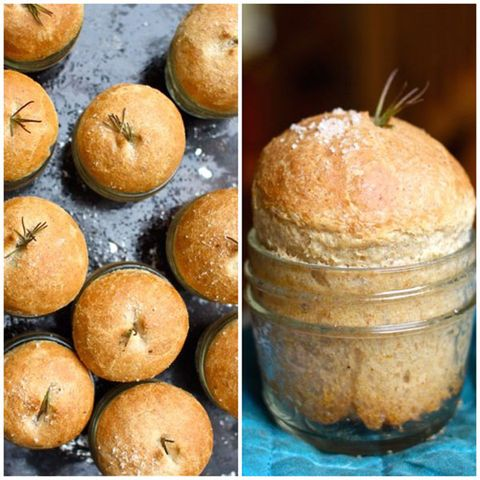 Mason Jar Crafts - Dinner Roll