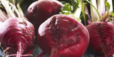 red beetroots