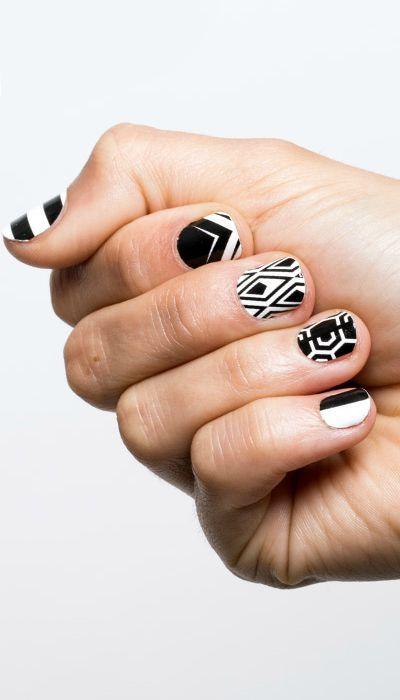 15 White Nail Art Designs White Manicure Tutorials