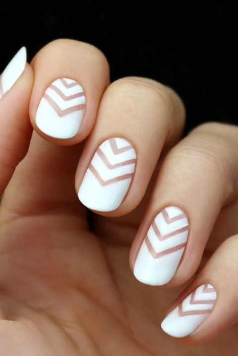 14 Best White Nail Designs White Manicure Art Tutorials