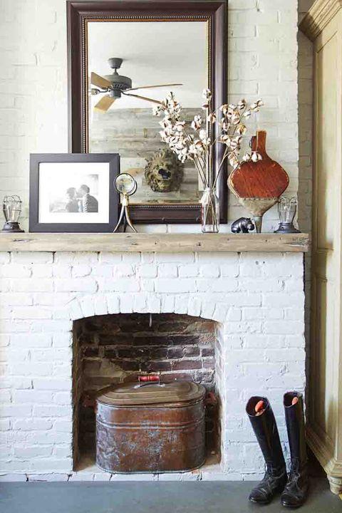 20 Fireplace Decorating Ideas - Best Fireplace Design ...