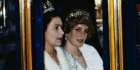 Queen Elizabeth Princess Diana Book