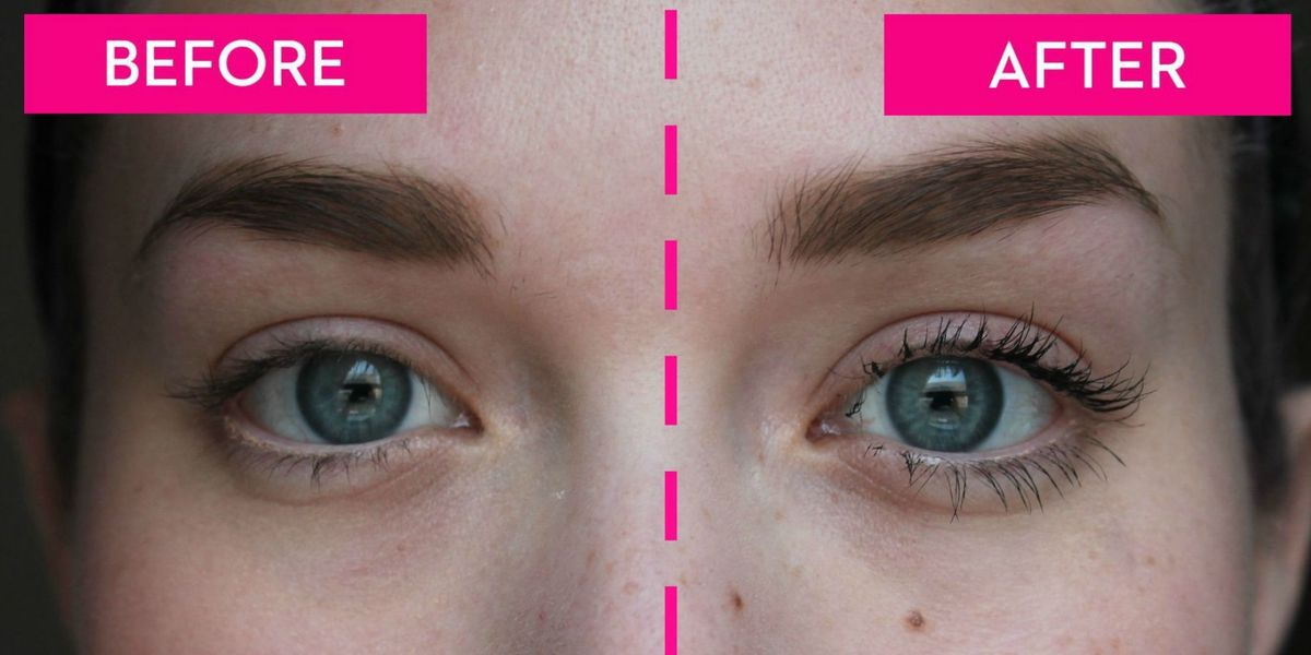How to Curl Your Eyelashes — Before and After Eyelash ...
