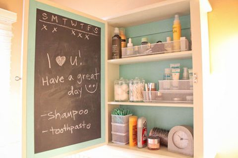 Wall, Blackboard, Shelving, Teal, Chalk, Handwriting, Shelf, Turquoise, Aqua, Peach,