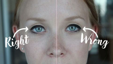This Eyeliner Trick Makes Your Eyes Look Bigger Makeup