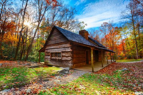 """<p>Watch as fall color moves down the Great Smoky Mountains surrounding this eastern Tennessee town, lighting up trees at different elevations throughout the season.</p><p><em>For more information, visit <a href=""""http://www.gatlinburg.com/events/fall.aspx"""" target=""""_blank"""">Gatlinburg.com</a>.</em></p>"""