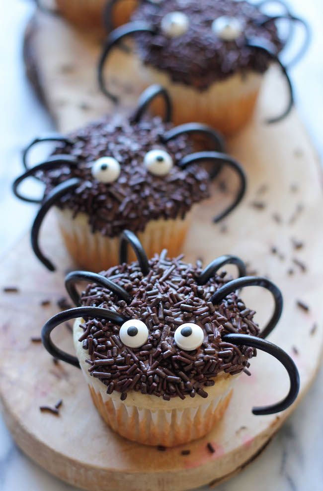 40 Cute Halloween Cupcakes Easy Recipes For Halloween Cupcake Ideas