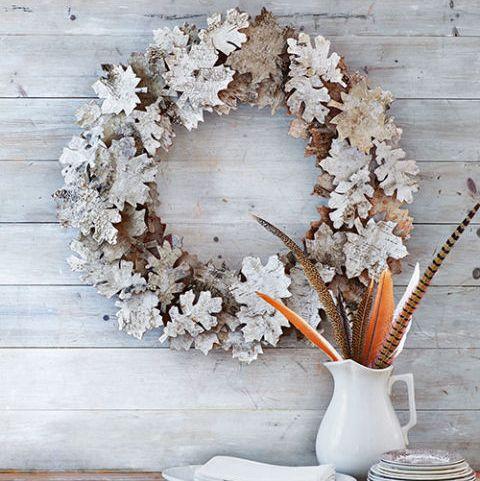 Fall Wreaths Birch-Bark Wreath
