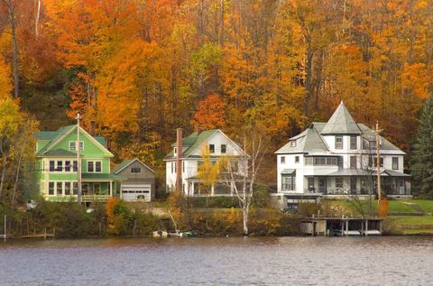 """<p>This scenic village in <a href=""""http://visitadirondacks.com/what-to-do/fall-foliage"""" target=""""_blank"""">the Adirondacks</a> offers miles of lakes, mountains, and hiking trails surrounded by the beautiful fall colors this region is known for. <br></p><p><em>For more information, visit <a href=""""http://www.saranaclake.com"""" target=""""_blank"""">Saranaclake.com</a>.</em></p>"""