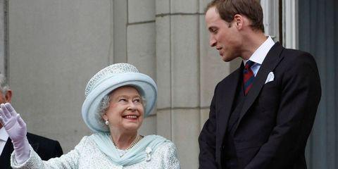 Prince William Talks Grandmother