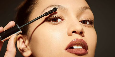 Lip, Cheek, Brown, Skin, Eyelash, Forehead, Eyebrow, Earrings, Eye shadow, Beauty,