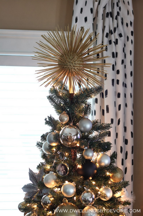 20 unique christmas tree toppers christmas tree decorations. Black Bedroom Furniture Sets. Home Design Ideas