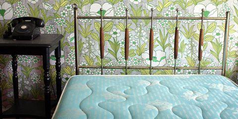 Teal, Fixture, Art, Pattern, Aqua, Iron, Turquoise, Flowerpot, Home appliance, Fence,