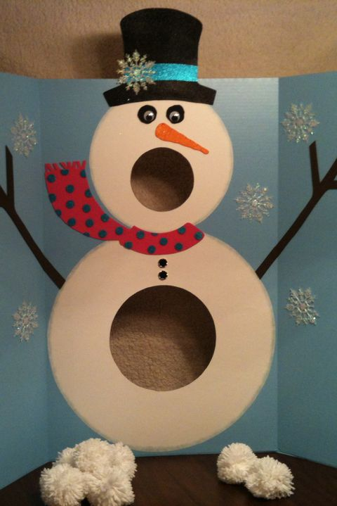 mr snowman toss christmas games - Christmas Games For Toddlers