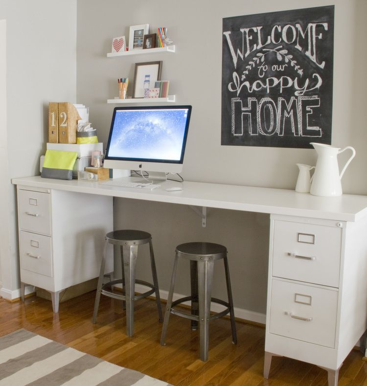 9 filing cabinet makeovers new uses for filing cabinets rh goodhousekeeping com filing cabinet desk ikea filing cabinet desk ideas