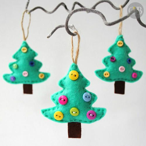 55 Homemade Christmas Ornaments Diy Handmade Holiday Tree Ornament