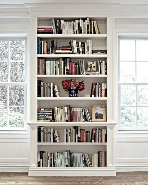 Wood, Room, Interior design, Shelf, Shelving, Wall, White, Bookcase, Home, Floor,