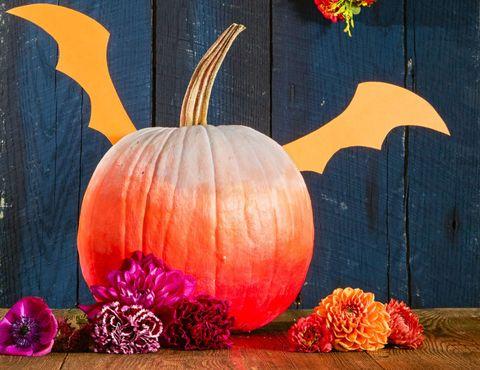 bat wings template pumpkin decorations