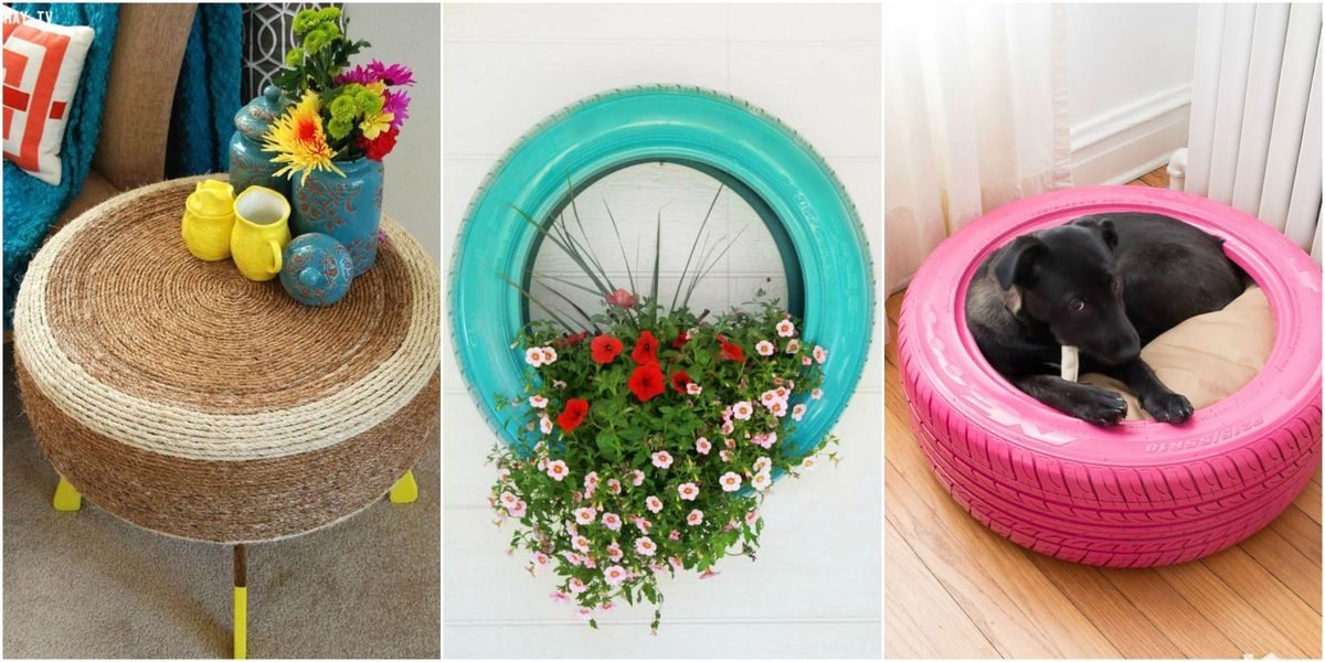 9 New Uses For Tires New Ways To Use Old Tires
