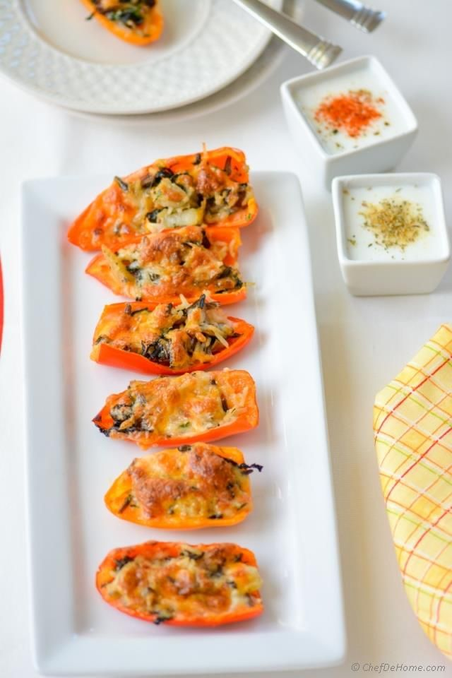 stuffing stuffed peppers - leftover stuffing recipes