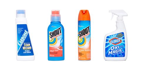 4 Toughest Stain Fighters On Store Shelves Best Stain Removal Products