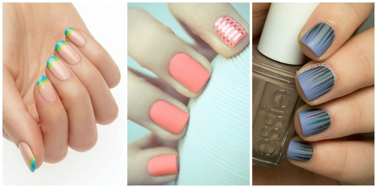 Nail Art Inspired by Pantone Spring 2016 Colors - Manicures Inspired ...