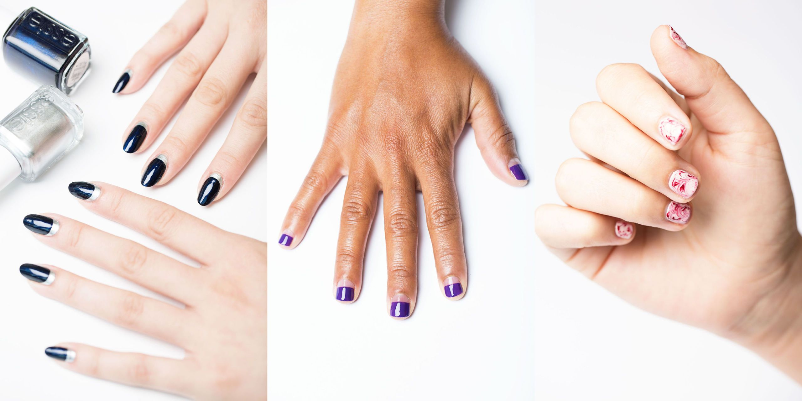 12 Easy Nail Designs , Simple Nail Art Ideas You Can Do Yourself