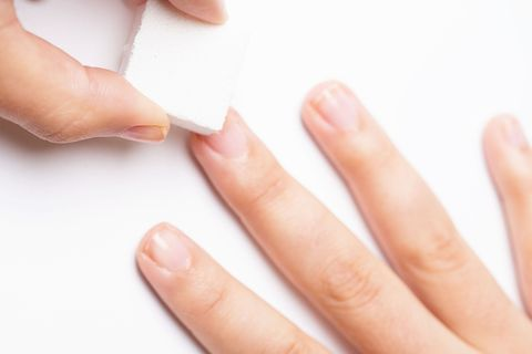 How to Fix a Broken Nail With a Tea Bag - Nail Care Trick