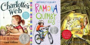 Charlotte's Web, Ramona Quimby Age 8, The Borrowers children's books to reread