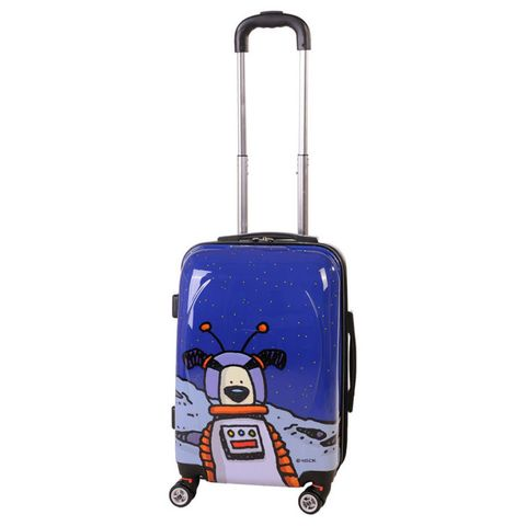 38b0a9316c1e Ed Heck Moon Dog Hardside Spinner Luggage 21 Inch #EH50321 Review