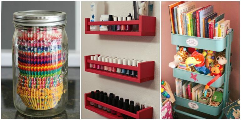 cute home organizing ideas. A spice rack is not just a  Repurposed Home Organizers Organizing Hacks and Ideas