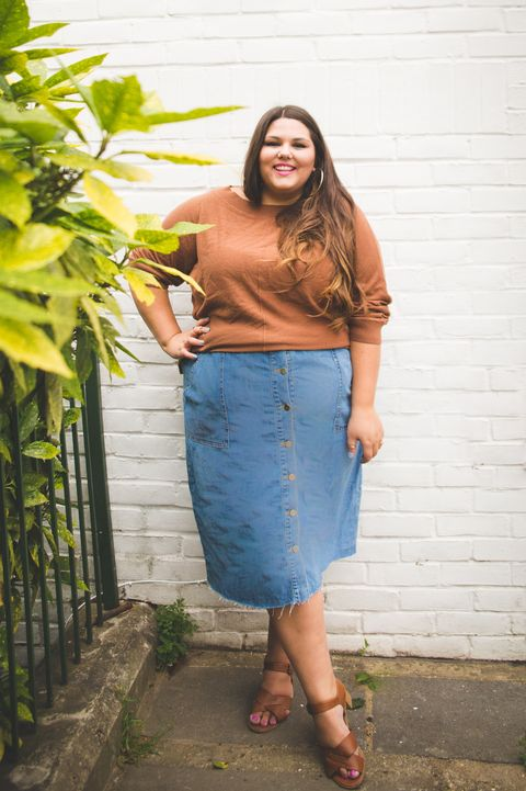 de011ef5d 23 Plus-Size Outfit Ideas for Fall - Plus-Size Style Inspiration
