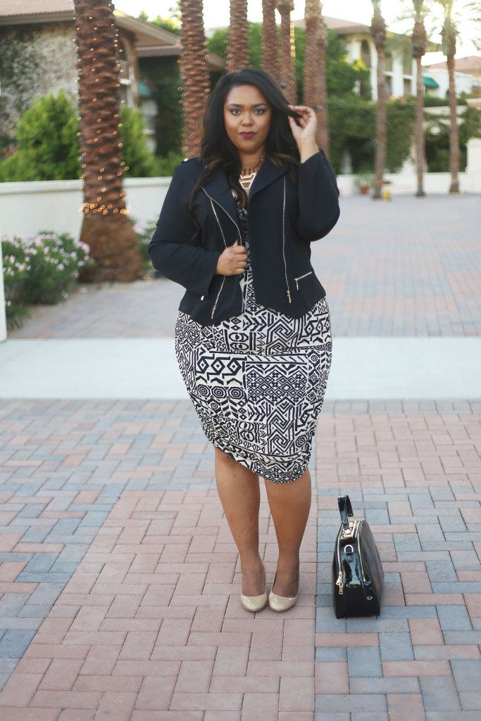 ad1aa3bfe2bbe 23 Plus-Size Outfit Ideas for Fall - Plus-Size Style Inspiration