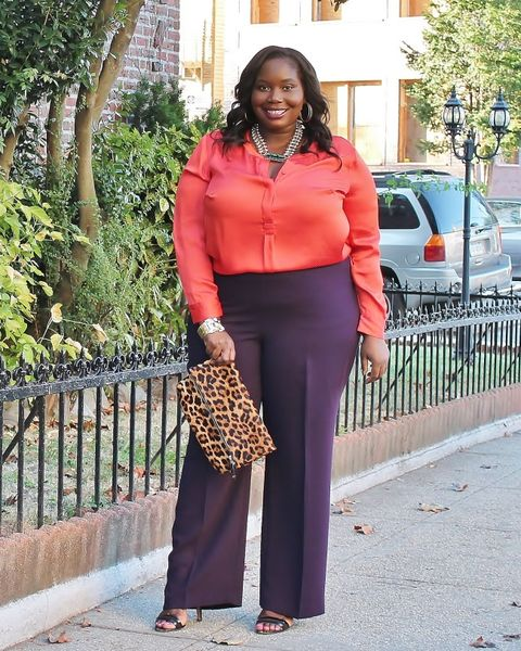 f8d21944c808 23 Plus-Size Outfit Ideas for Fall - Plus-Size Style Inspiration