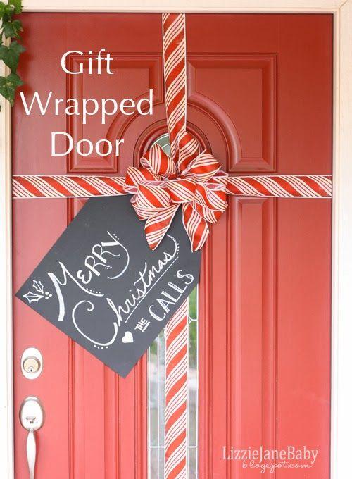 35 Christmas Door Decorating Ideas - Best Decorations for Your Front Door
