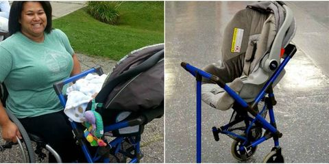 Product, Baby carriage, Baby Products, Comfort, Bag, Electric blue, Luggage and bags, Rolling, Baggage, Armrest,