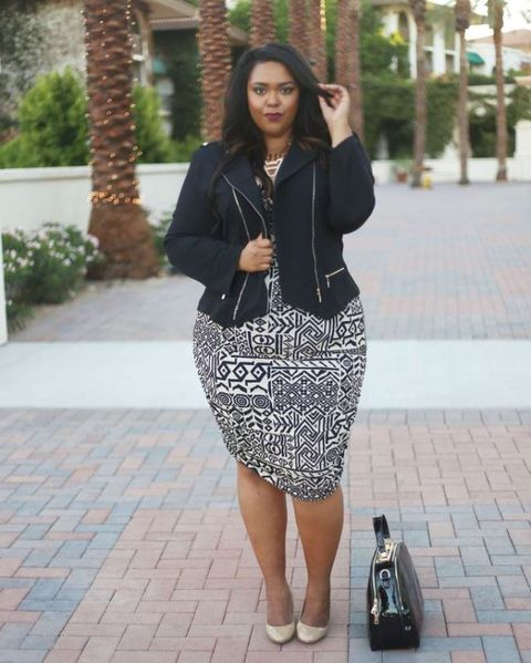 07420bc0f8e66 23 Plus-Size Outfit Ideas for Fall - Plus-Size Style Inspiration