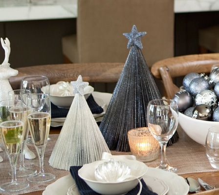 40 diy christmas table decorations and settings centerpieces 40 diy christmas table decorations and settings centerpieces ideas for your christmas table solutioingenieria Gallery