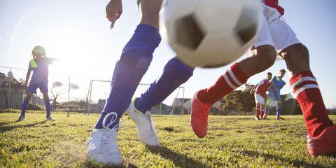 Kids Soccer Practice