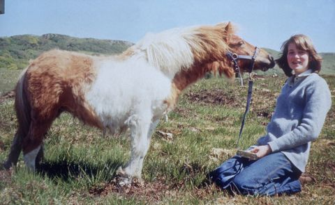 Human, Horse, Working animal, Mammal, People in nature, Pony, Pasture, Rural area, Ecoregion, Grassland,