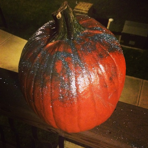 Fail Glitter Pumpkin