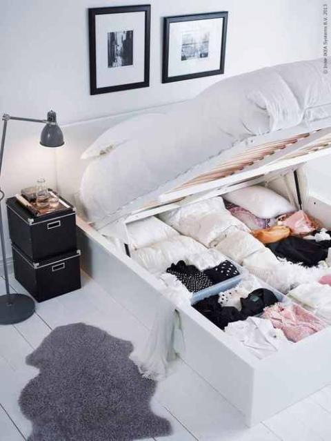 Bedroom Storage Hacks Bedroom Organization Ideas