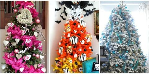 Holiday Trees To Decorate Your Home All Year Holiday Tree Diy
