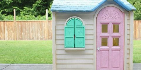 Little Tikes Playhouse Makeovers - DIY Playhouse