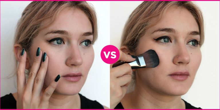Why You Should Apply Foundation With A Brush Instead Of
