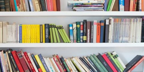 Blue, Green, Publication, Shelf, Shelving, Collection, Colorfulness, Book, Azure, Teal,