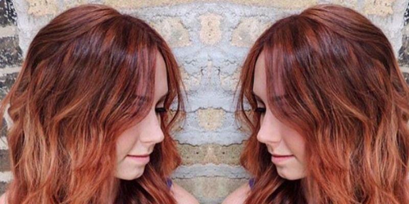 Pumpkin Spice Hair Color Trend Gingersnap Hair Color Photos