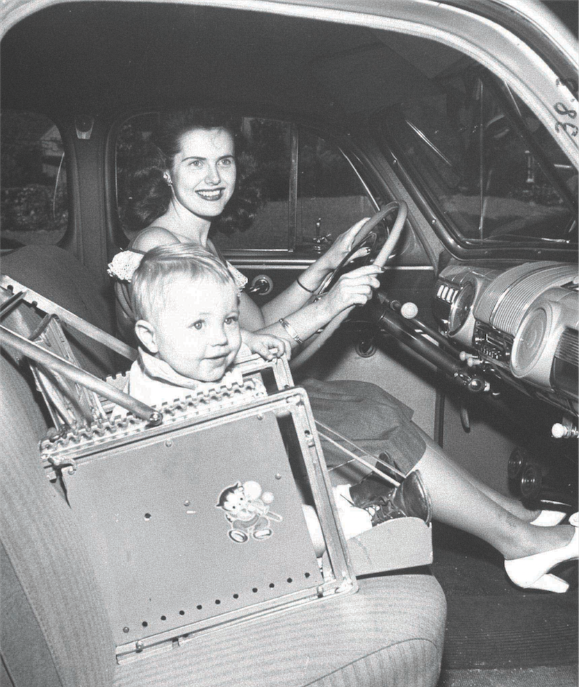 History of Car Seats - The Evolution of the Car Seat