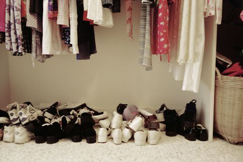 Organizing the closet
