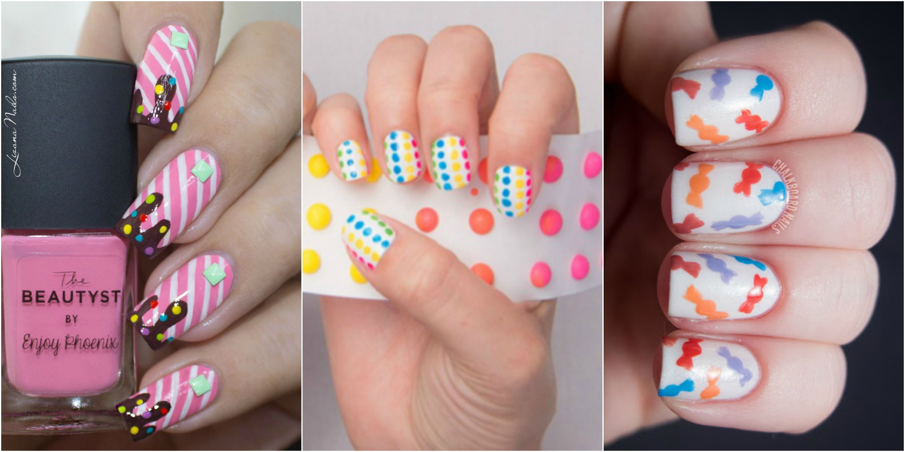 Nice Candy Nail Art Photo - Nail Art Ideas - morihati.com